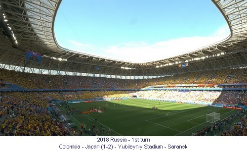 CM_01913_2018_1st turn_Colombia_Japan_Yubileyniy_Stadium_Saransk_1_en.jpg