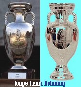 Henri Delaunay Cup build by Arthur Bertrand (France)-Henri Delaunay Cup build by Asprey (England)